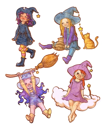 Kleine Hexen